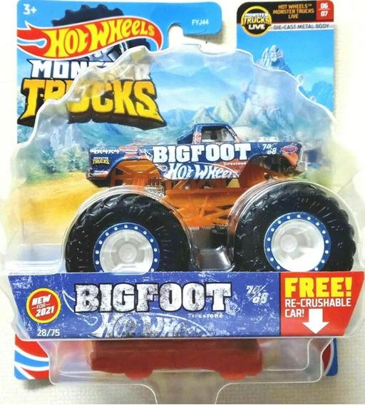 Hot Wheels Monster Truck 1:64 Big Foot