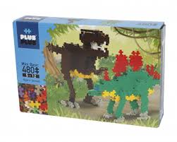 Plus-Plus Mini -  480 peças Dino