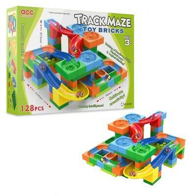 Pista Deslizante com Bolinha -Track Maze - 128 peças