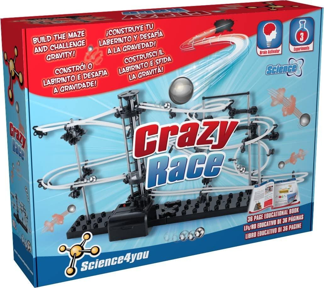 Crazy Race STEAM -  Construa uma Montanha Russa e desafie a gravidade
