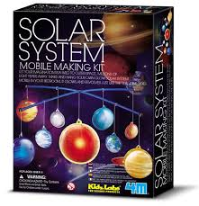 Crie um Móbile do Sistema Solar - 4M