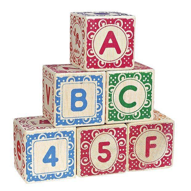 Cubos ABC em Madeira