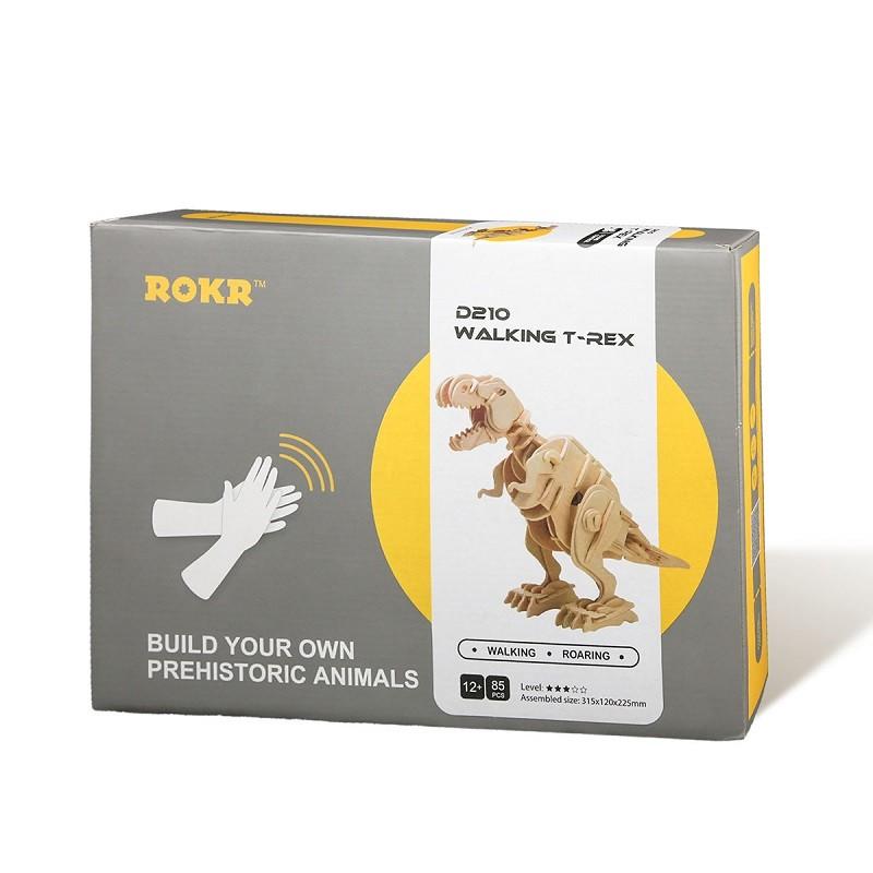 Desafio 3D Walking T Rex - Robotime