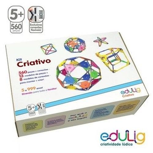 Desafio Edulig Criativo 560 peças e conexões