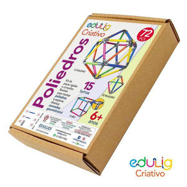 Desafio Edulig Criativo Puzzle 3D - Poliedros