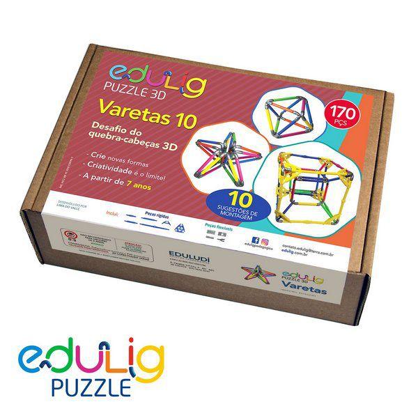Desafio Edulig Criativo Puzzle 3D - Varetas 10