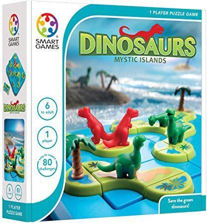 Ilha dos Dinossauros - Jogo de lógica