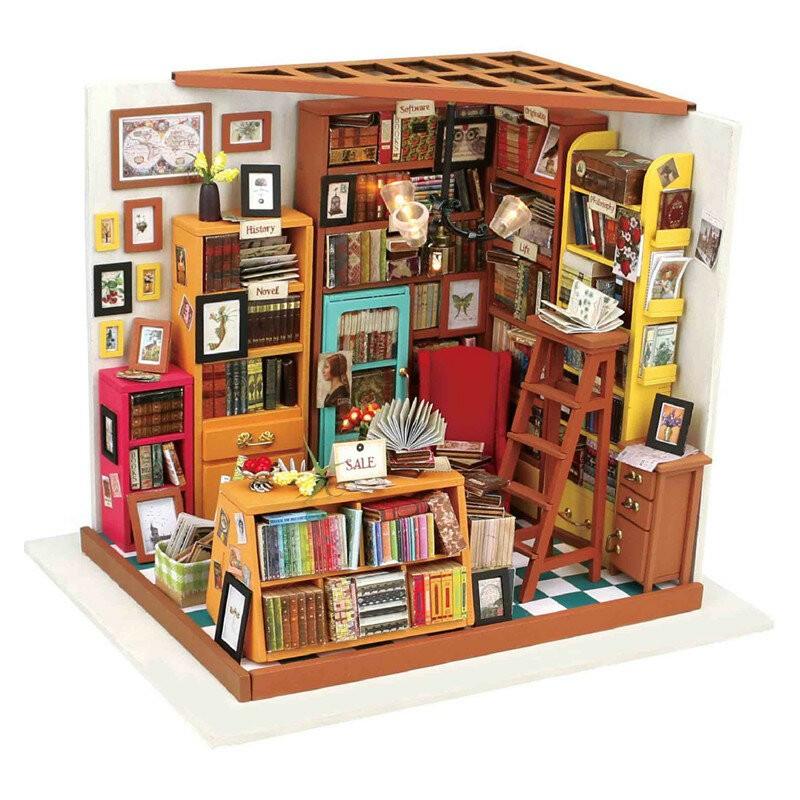 DIY MINIATURE HOUSE Biblioteca - Monte a sua