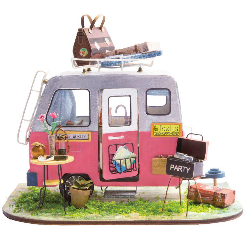 DIY MINIATURE HOUSE Camping - Monte a sua