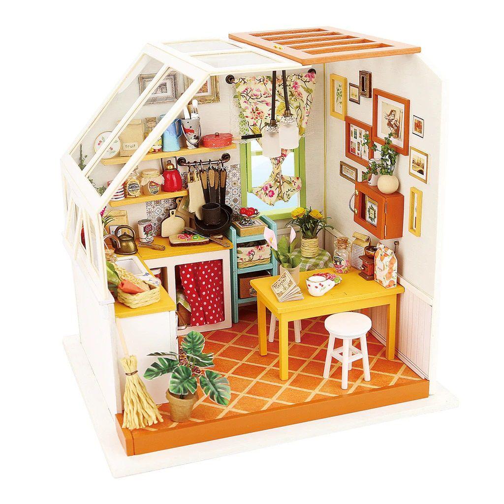 DIY MINIATURE HOUSE Cozinha - Monte a sua