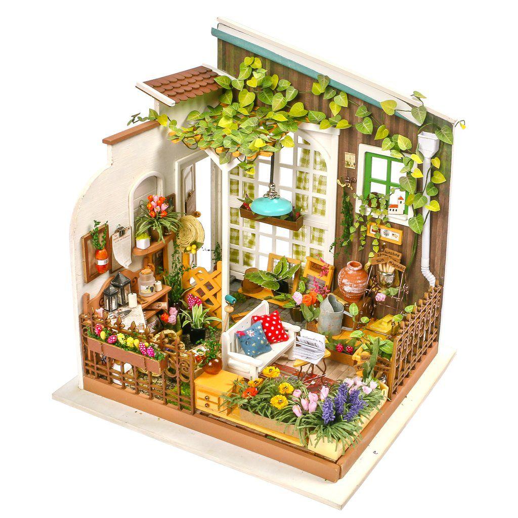 DIY MINIATURE HOUSE - Jardim