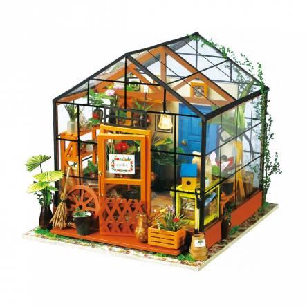 DIY MINIATURE HOUSE Jardim de Inverno - Monte a sua
