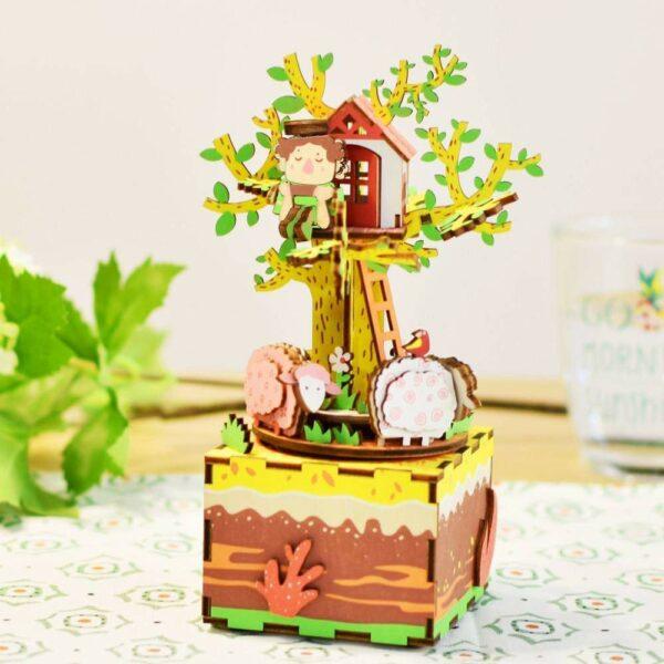 DIY MUSIC BOX- Casa na Árvore