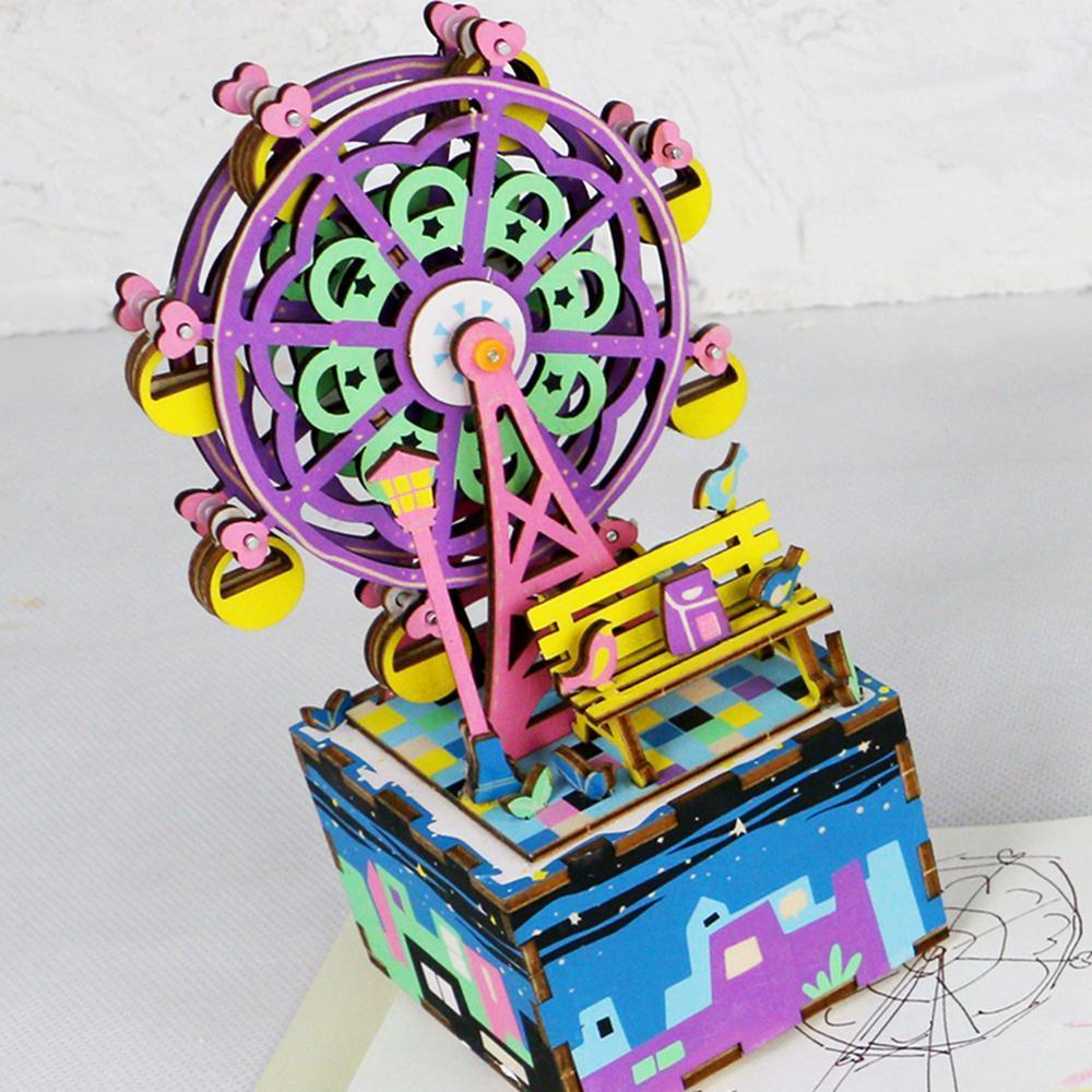 DIY MUSIC BOX- Roda Gigante