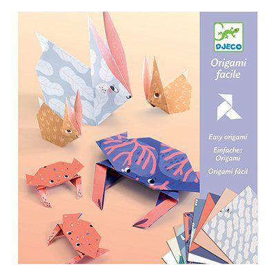 Origami Dobradura Fácil - Famílias