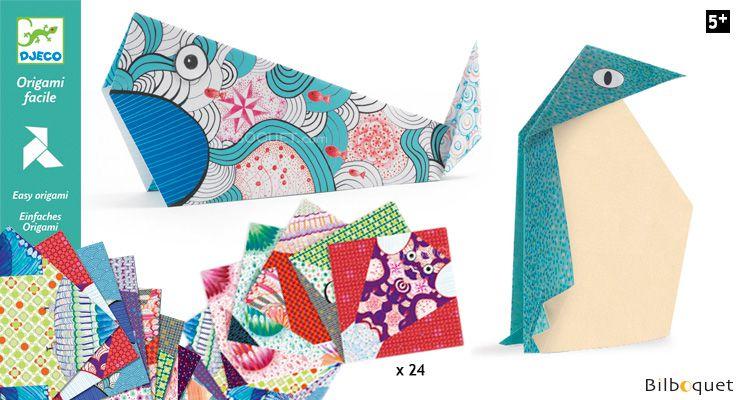 Origami Dobradura Djeco - Grandes Bichos