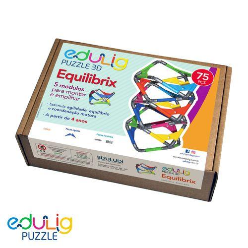 Desafio Edulig Criativo Puzzle 3D -Equilibrix