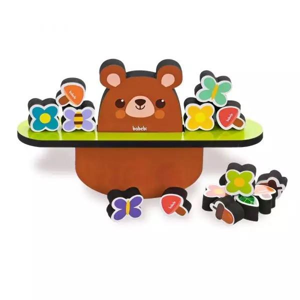 Equilibrando o ursinho