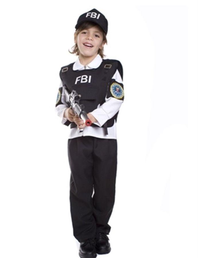 Fantasia Agente do FBI  (2-4 anos)