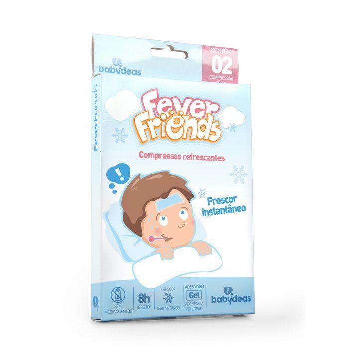Fever Friends -Compressas refrescantes para febre