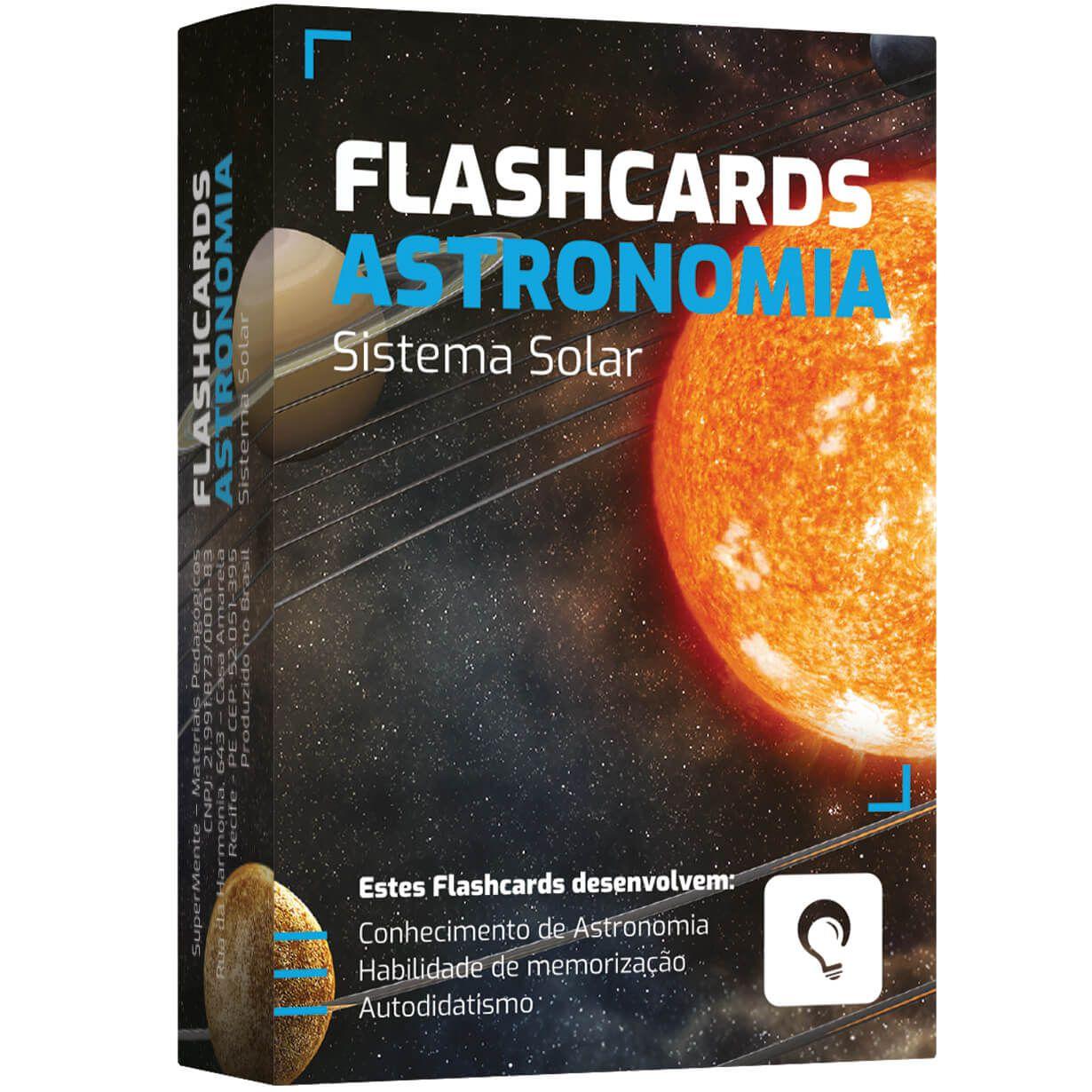 Flashcards Astronomia