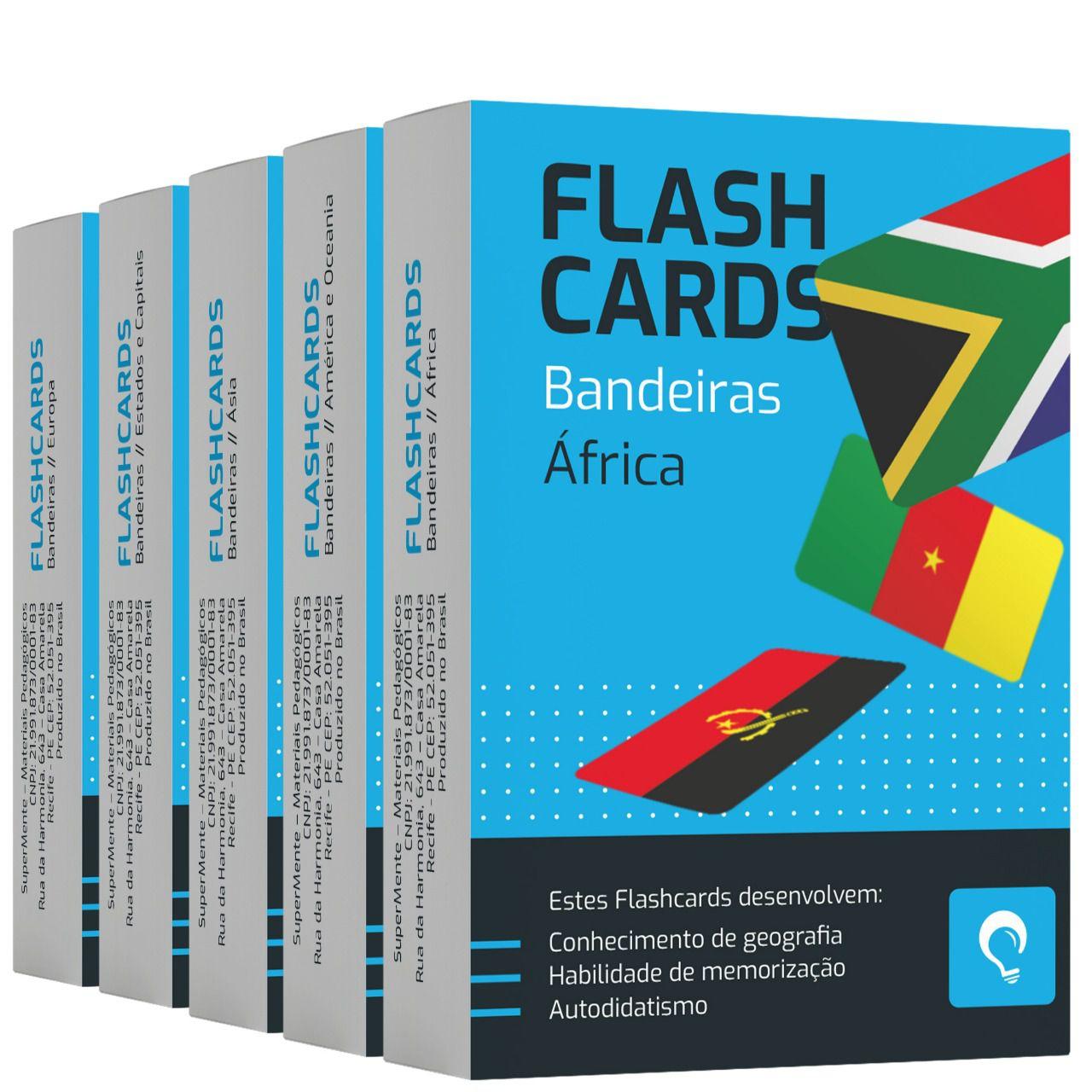 Flashcards Kit Bandeiras