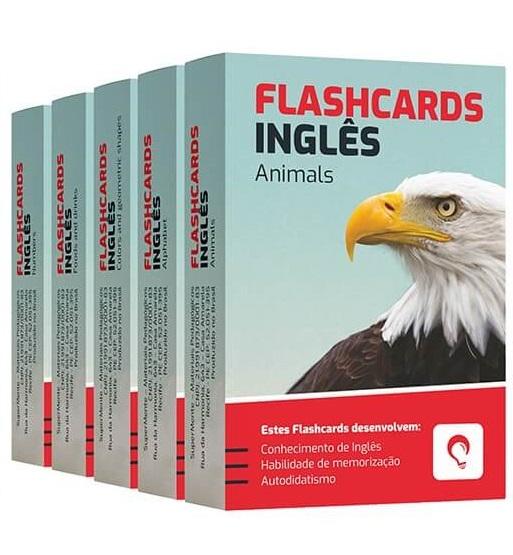 Flashcards Kit Inglês 2