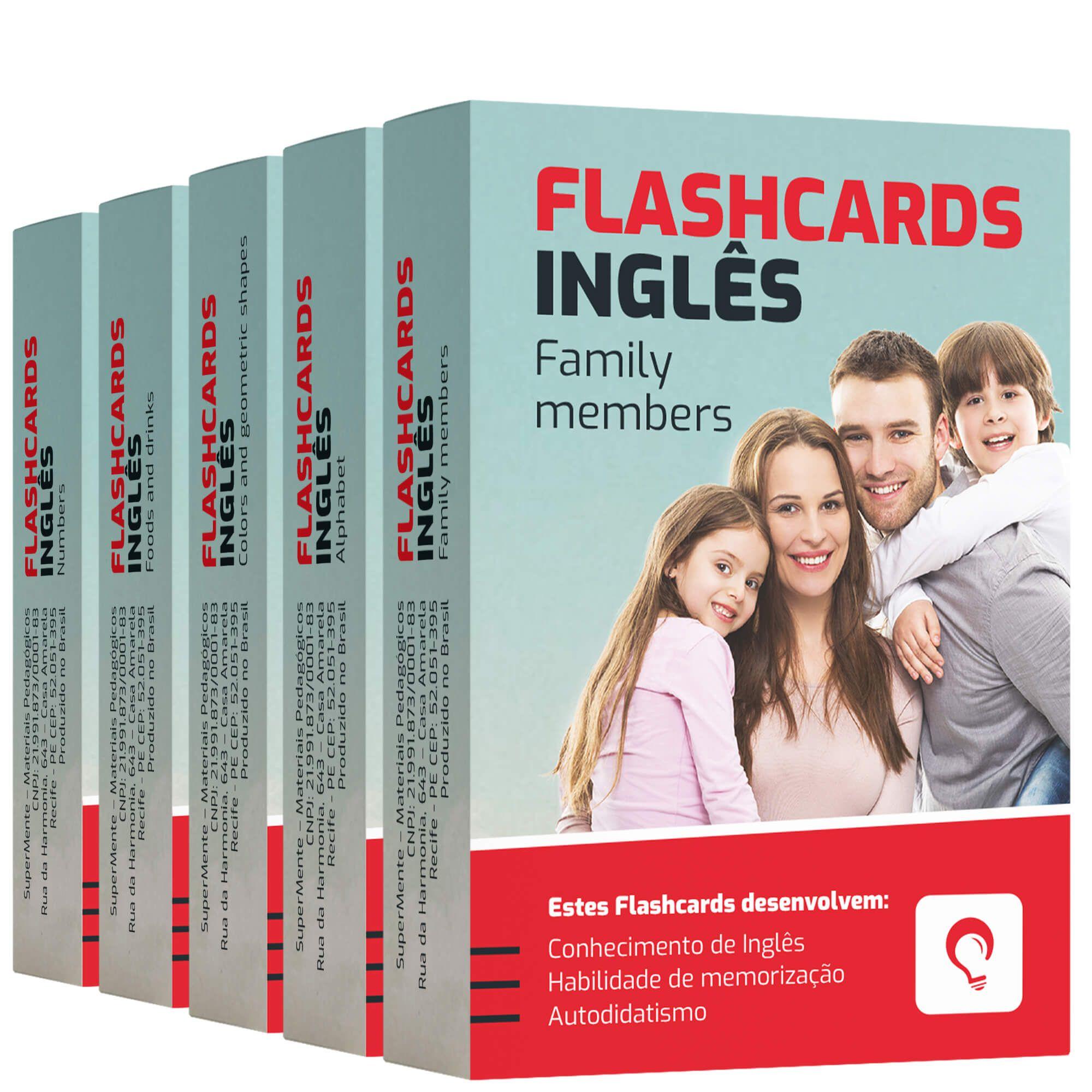 Flashcards Kit Inglês
