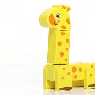 Girafa em Blocos