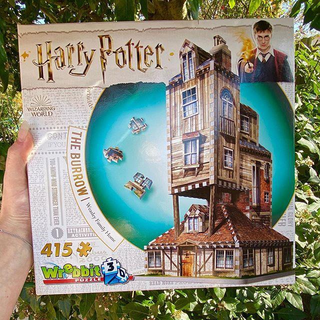 Harry Potter A Toca - Casa da Família Weasley Quebra-Cabeça 3D