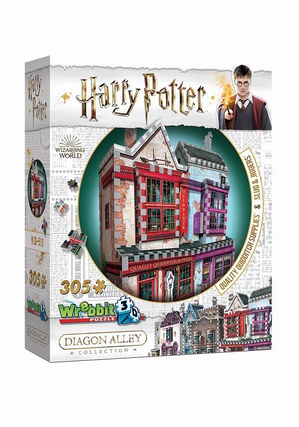 Harry Potter Artigos de Qualidade para Quadribol e Apotecário Quebra-Cabeça 3D