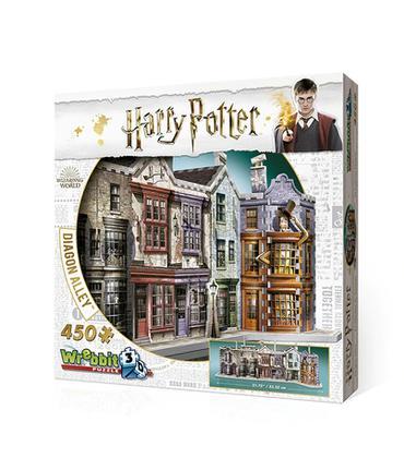 Harry Potter Beco Diagonal - Quebra-Cabeça 3D Wrebbit