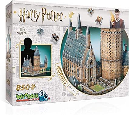 Harry Potter Hogwarts - Salão Principal Quebra-Cabeça 3D