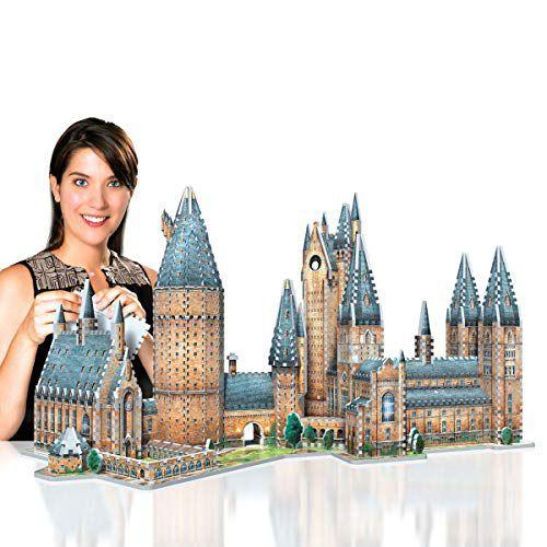 Harry Potter Hogwarts - Torre de Astronomia Quebra-Cabeça 3D