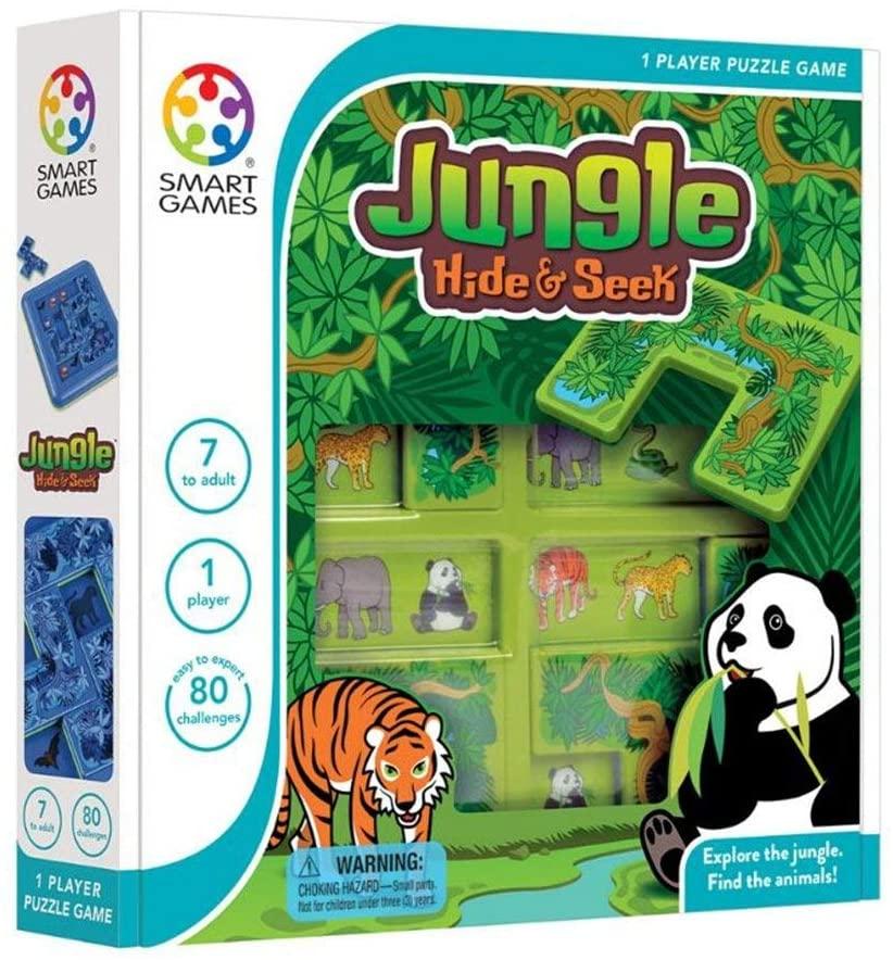 Hide and Seek Jungle - Lógica