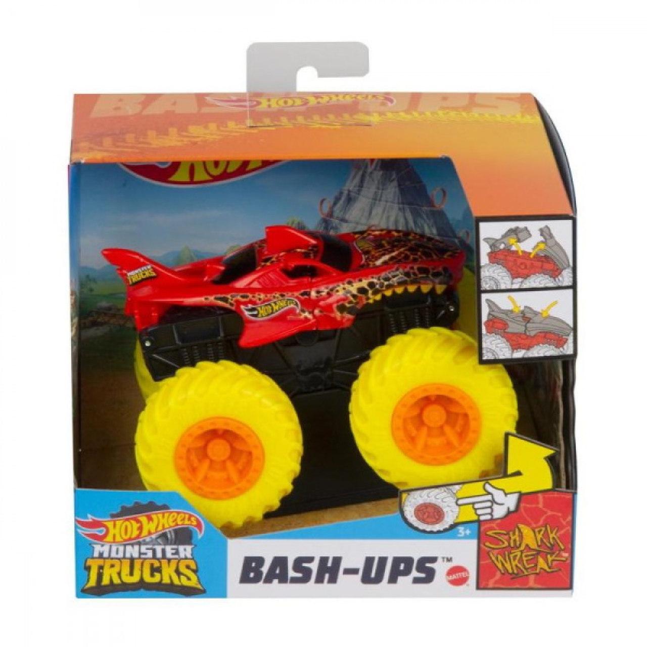 Hot Wheels Monster Truck 1:43 Shark Wreak