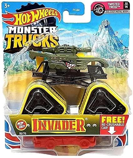 Hot Wheels Monster Truck 1:64 Invader