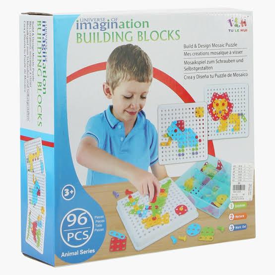 Construção Criativa (Mosaico) - 94 peças
