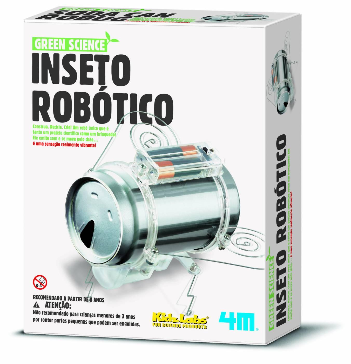 Inseto Robótico de Latinha - 4M