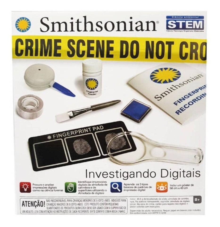 Investigando Digitais - kit Prático -  Smithsonian