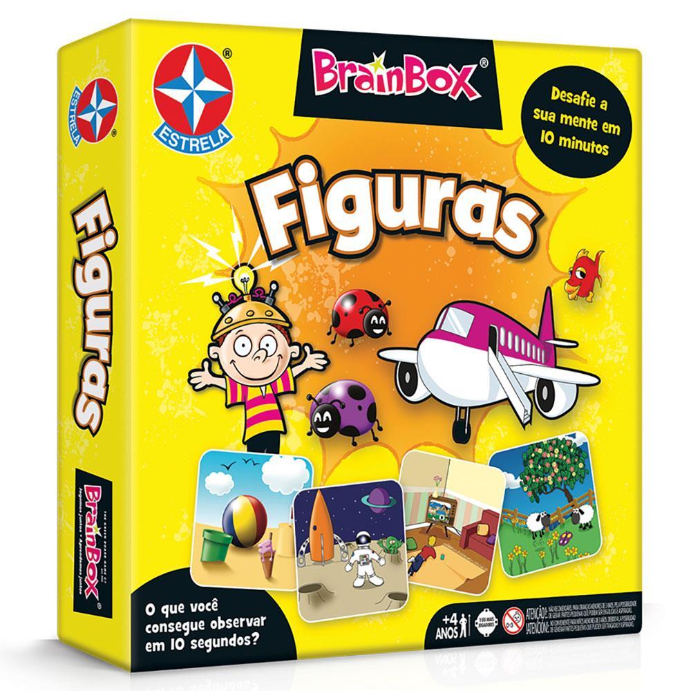 Jogo Brainbox - Figuras - Você é bom de Memória?