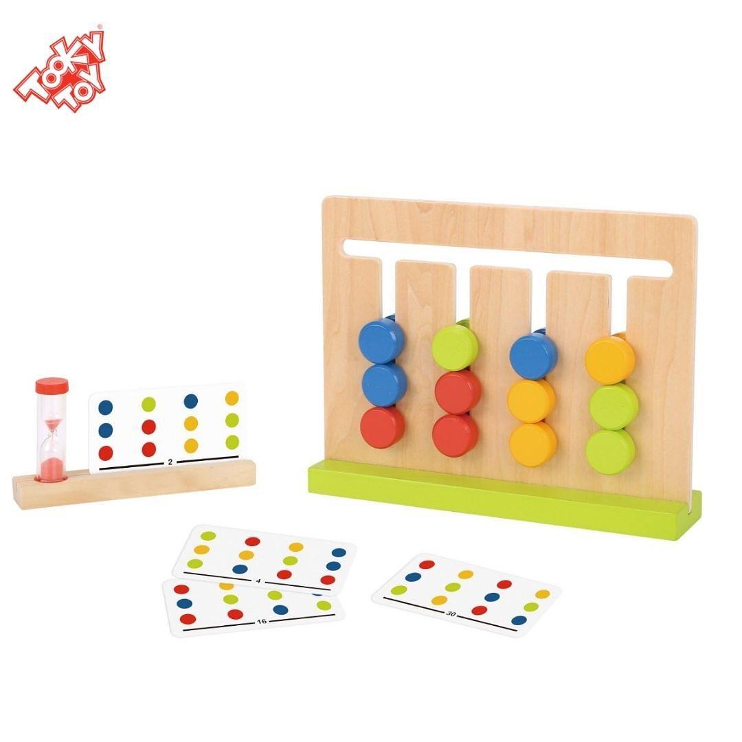 Jogo da Lógica - Organize as Cores