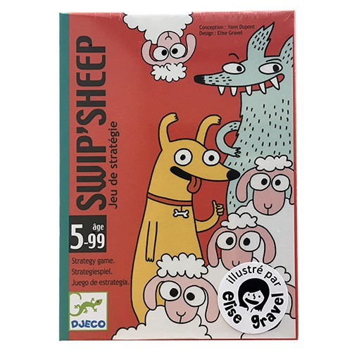Jogo de Cartas (estratégia) - Swip'Sheep  Djeco