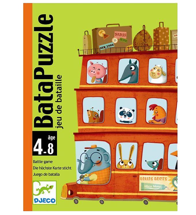 Jogo de Cartas (batalha) - Bata-Puzzle Djeco