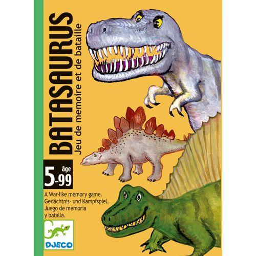Jogo de Cartas (memória e batalha)- Batasaurus Djeco