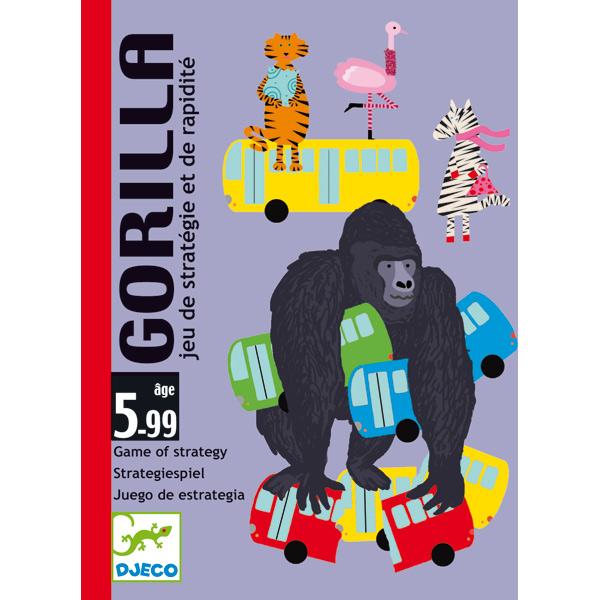 Jogo de Cartas (estratégia e velocidade) - Gorilla Djeco