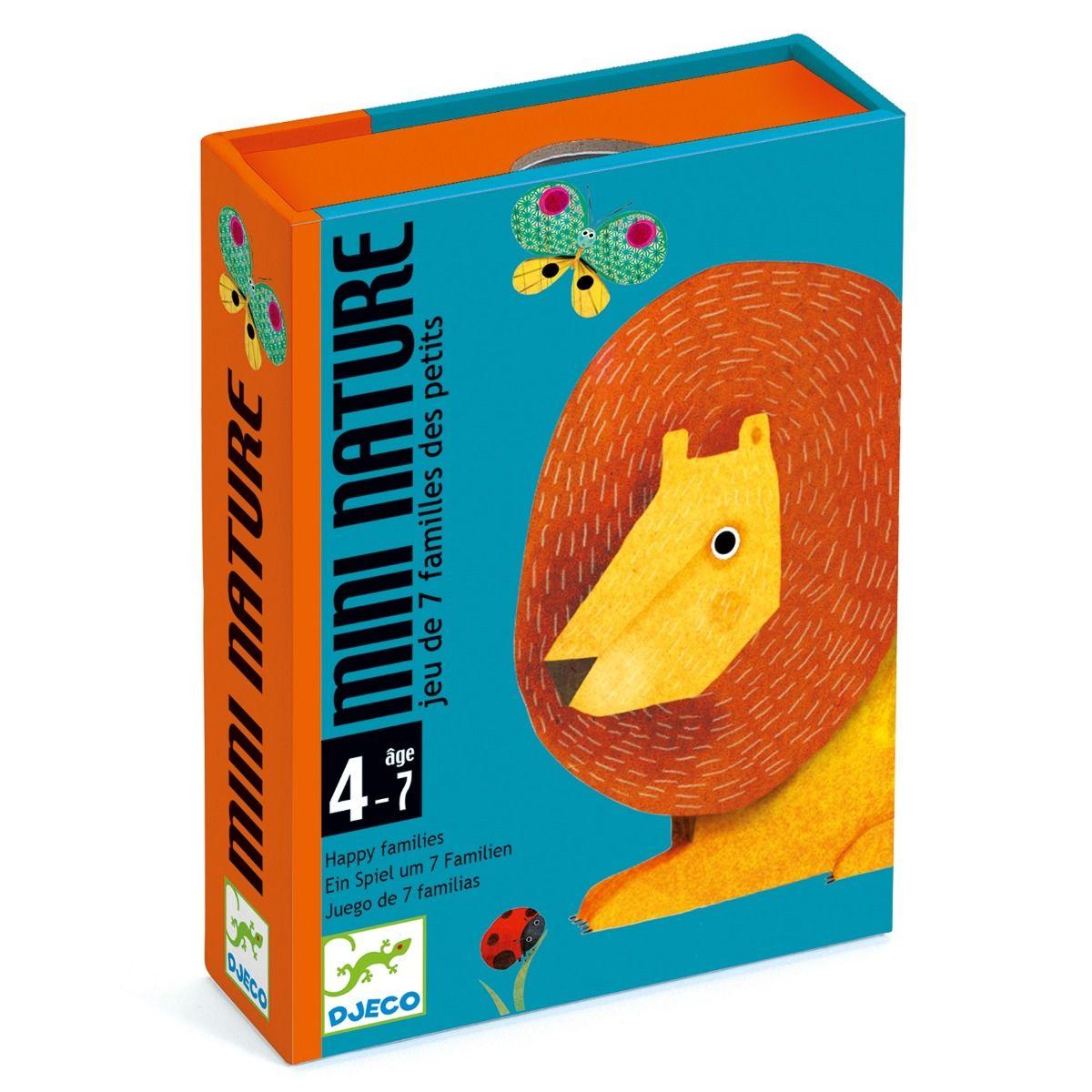 Jogo de Cartas- Mini Nature Djeco