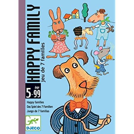 Jogo de Cartas (observação) - Happy Family Djeco