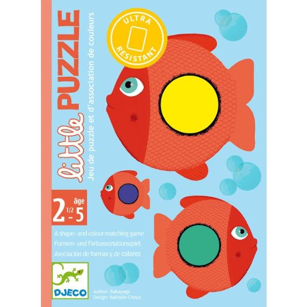 Jogo de Cartas para os pequenos - Little Puzzle