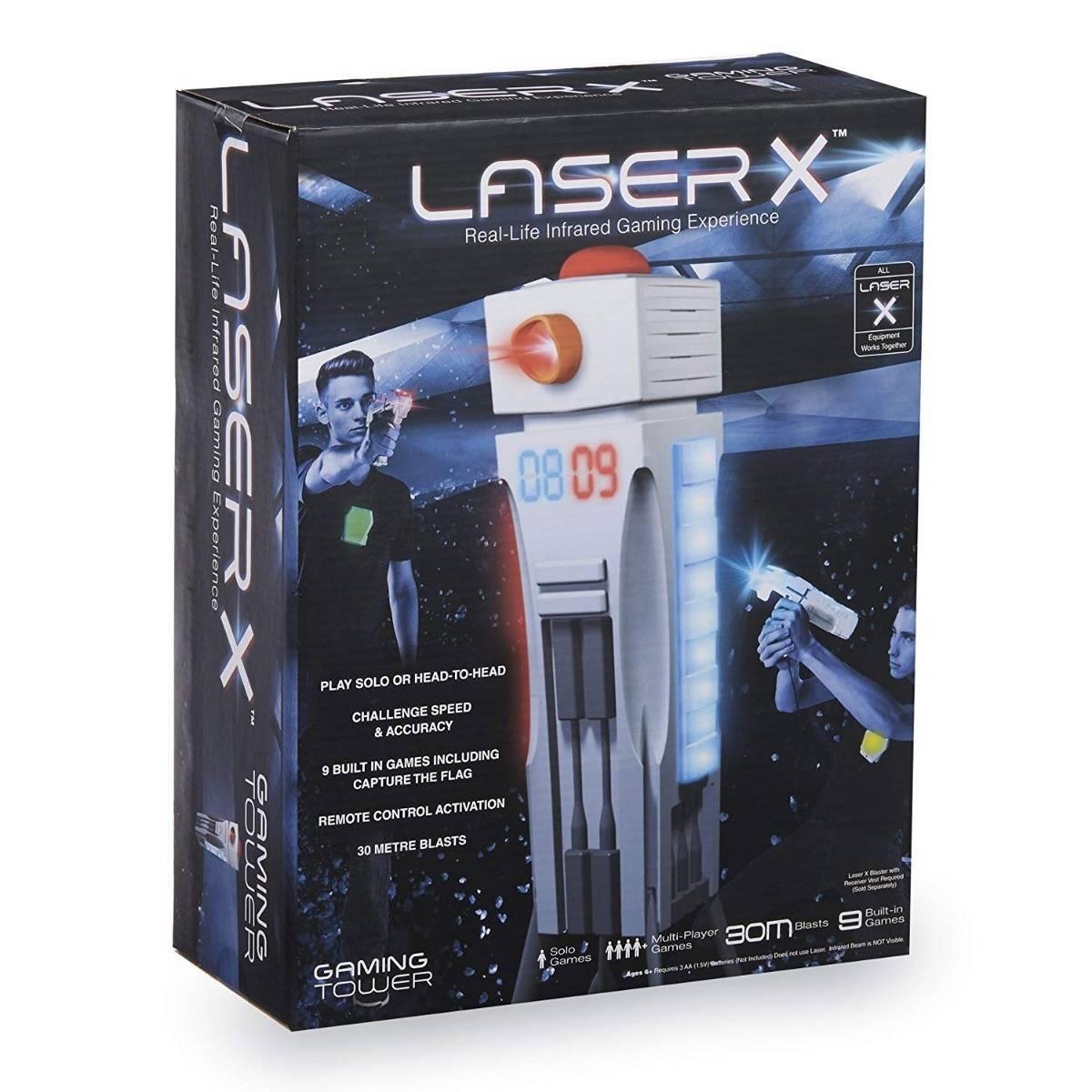 Jogo de combate Laser X - Torre de Treinamento